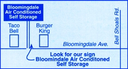 Image of Bloomingdale Self Storage Facility on 912 E Bloomingdale Ave  in Brandon, FL - View 2