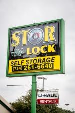 Image of Stor-N-Lock Self Storage Facility at 7840 N Wayne Rd  Westland, MI
