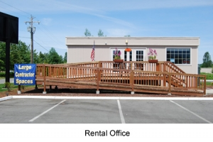 Image of Eastside Self Storage - North Bend Facility on 1410 Boalch Ave NW  in North Bend, WA - View 2
