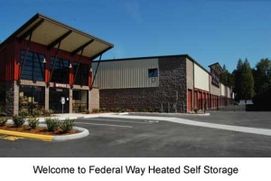 Image of Federal Way Heated Self Storage Facility on 35205 Pacific Hwy S  in Federal Way, WA - View 2