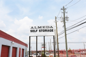 Image of Almeda Self Storage Facility on 10600 Almeda Genoa Rd  in Houston, TX - View 2