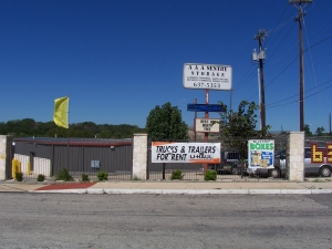 Image of AAA Sentry Storage Facility on 6303 Krempen Ave  in San Antonio, TX - View 2